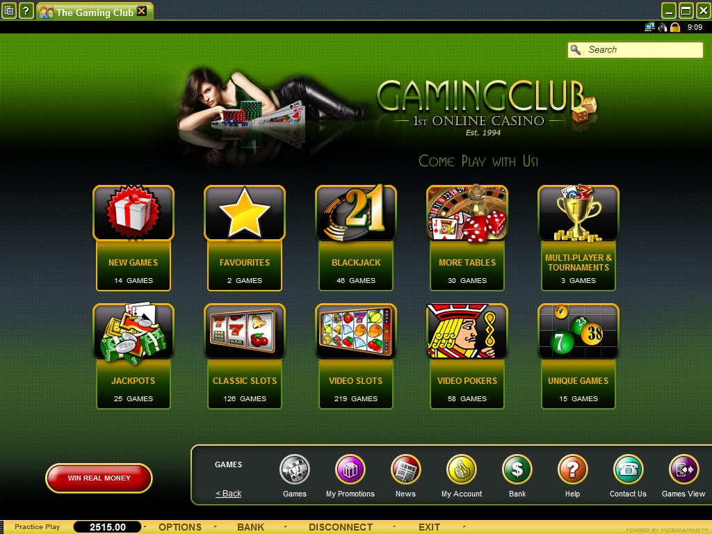 gaming club casino reviews