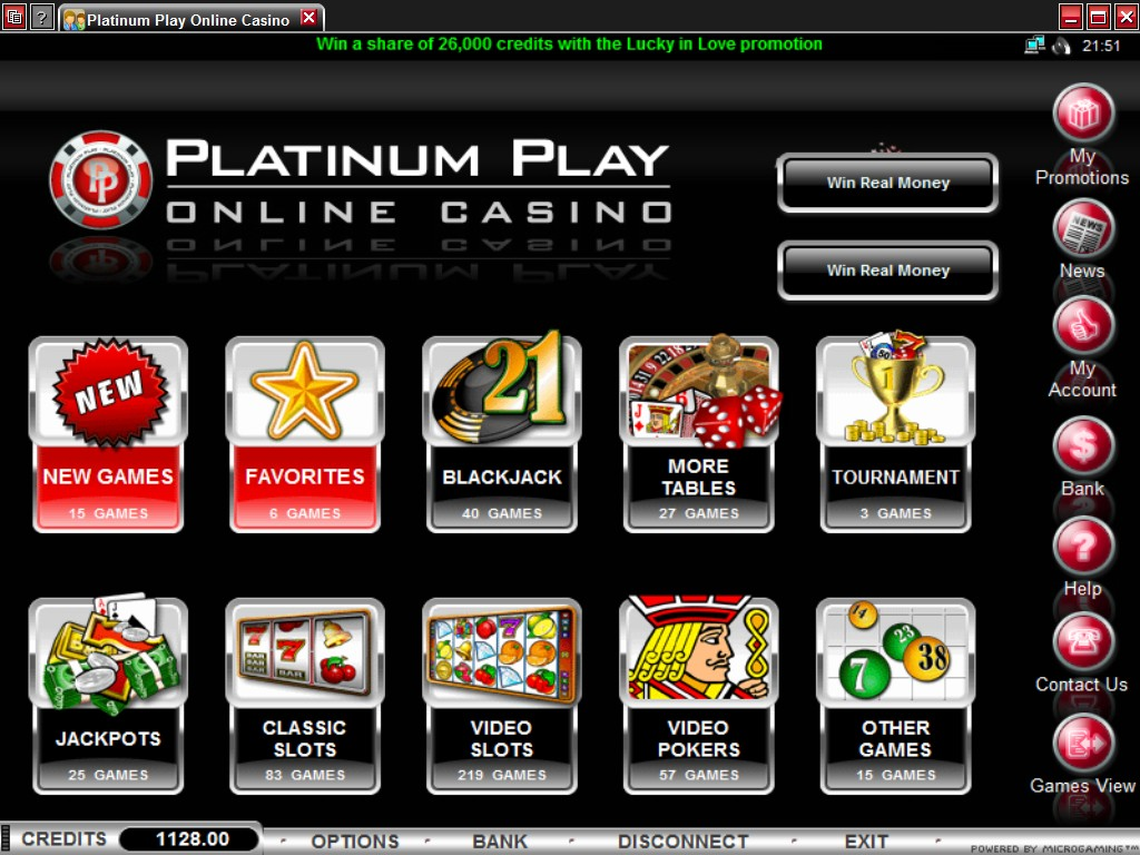 casino platinum play español